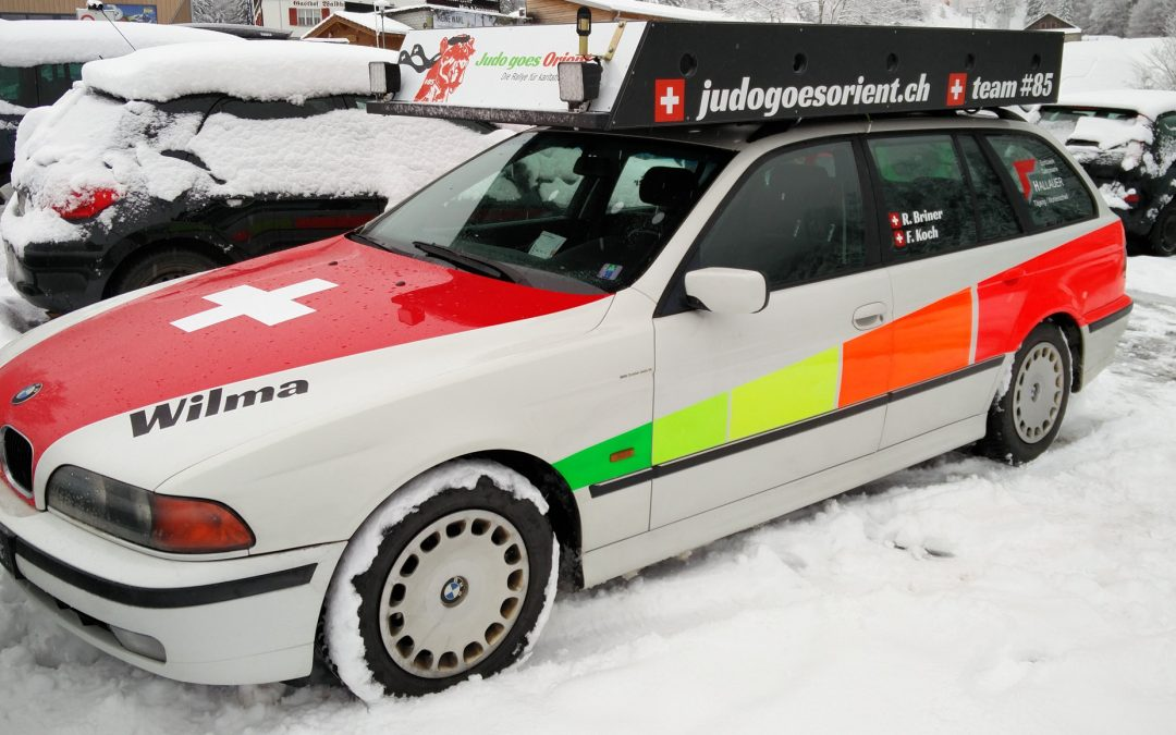 Wintereinbruch – und dies pünktlich zum Rallye–Start…