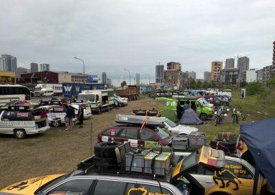 Lagerplatz in Batumi