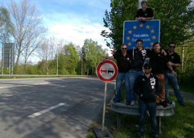 Grenze Österreich