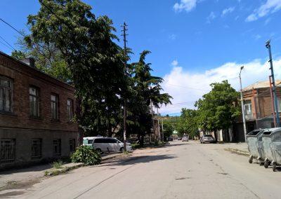 Seitenstrasse in Georgien