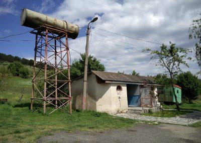 Wasserspeicher und WC