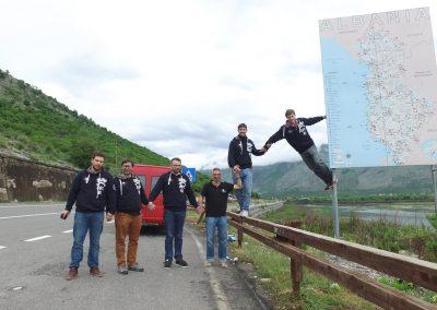Grenze Albanien